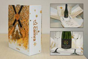 Boîte cadeau Groupe Canva
