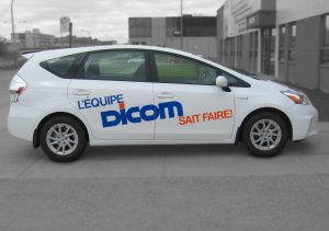 Dicom | Habillage et lettrage de véhicule