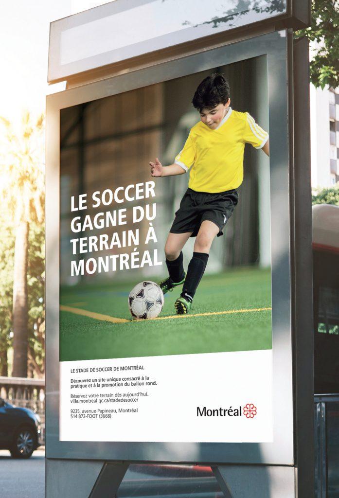 Affiche Stade de soccer de Montréal